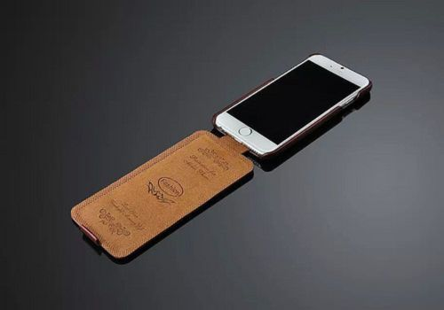 IPhone SE Leather Flip Case Cover
